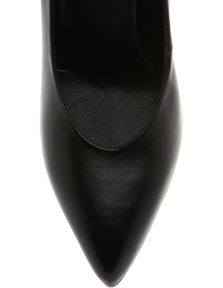 Eugenia Black Leather Pump image 3