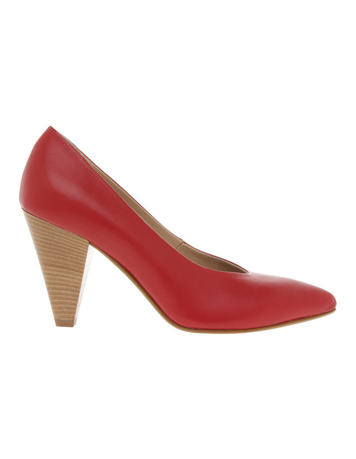 Eugenia Red Leather Heel image 1