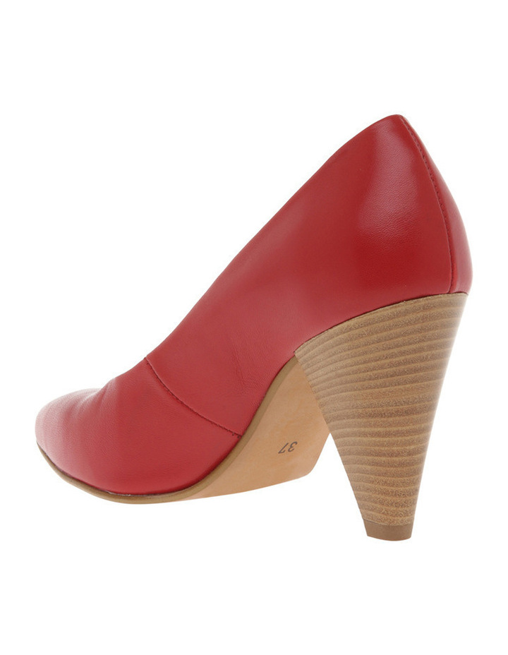 Eugenia Red Leather Heel image 2