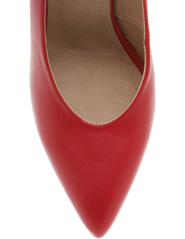 Eugenia Red Leather Heel image 3
