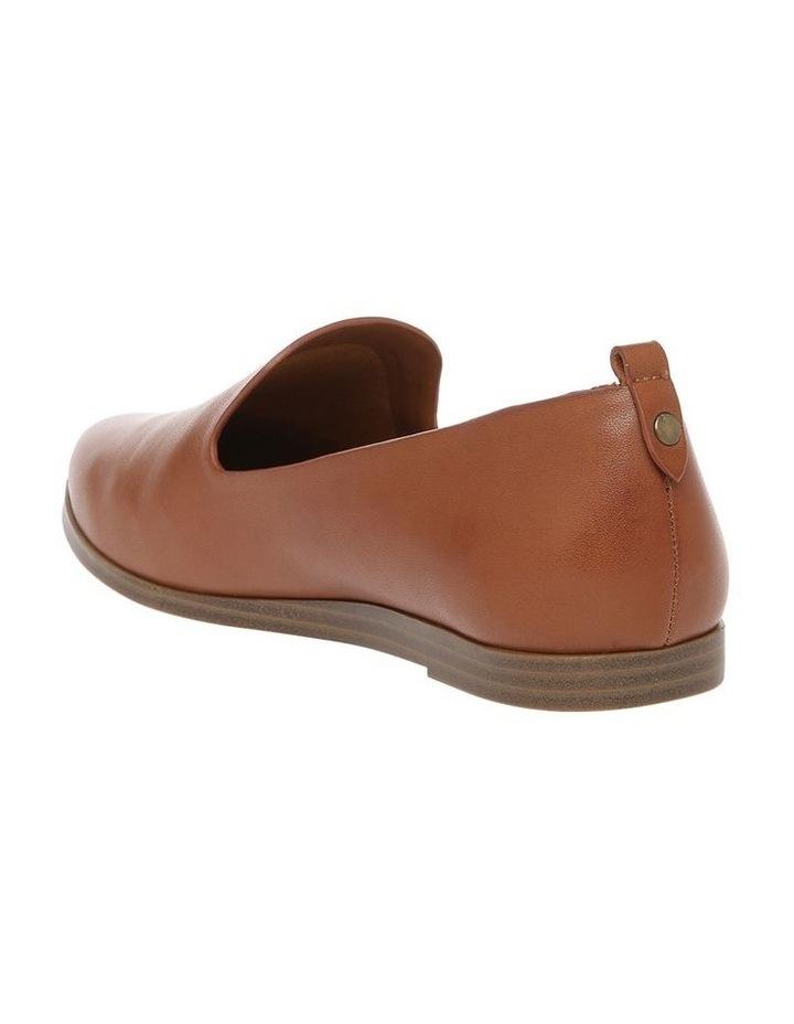 Alberta Tan Leather Flat image 2