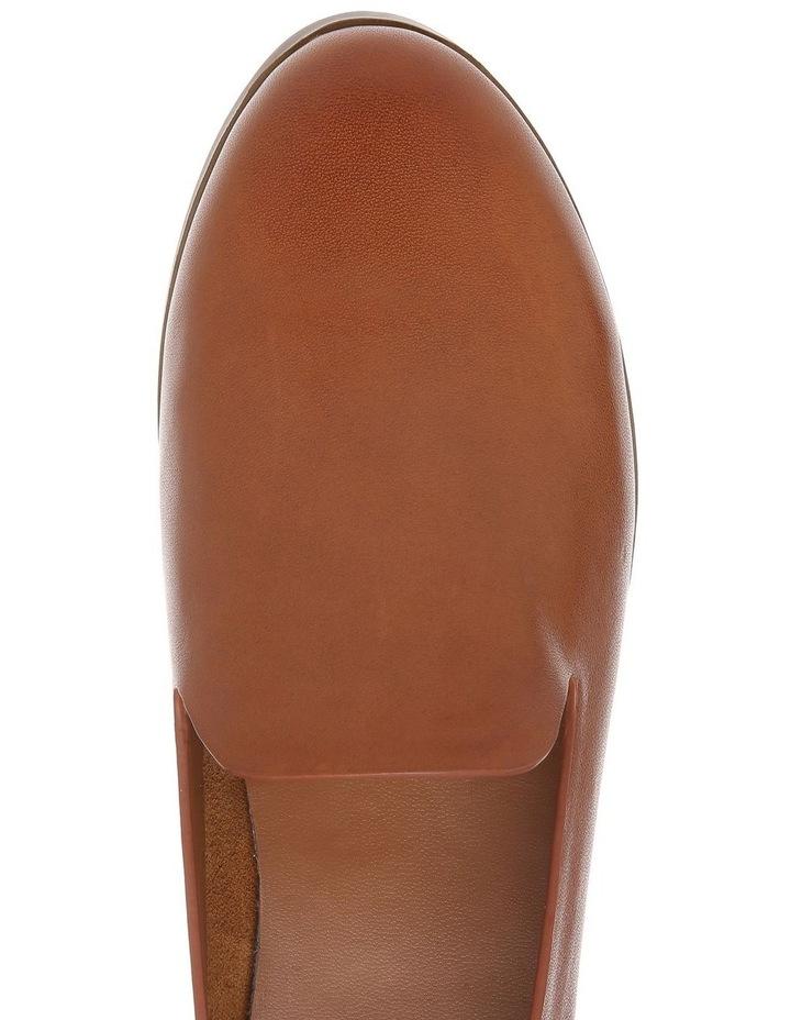 Alberta Tan Leather Flat image 3