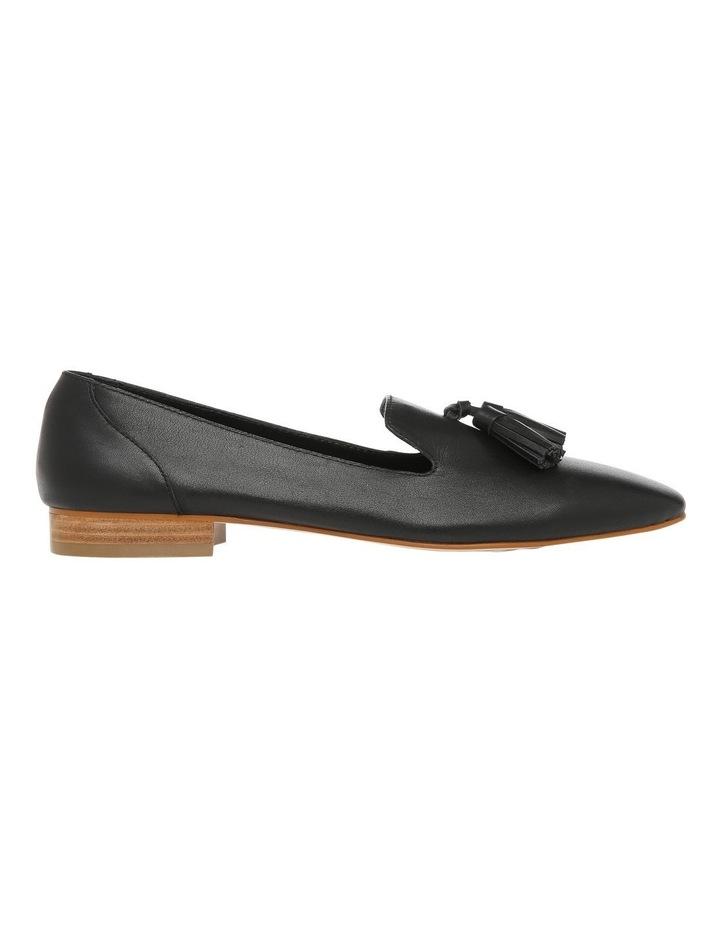 Jen Black Leather Flat image 1