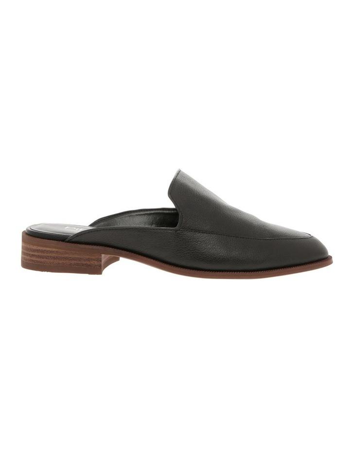 Union Black Leather Flat image 1