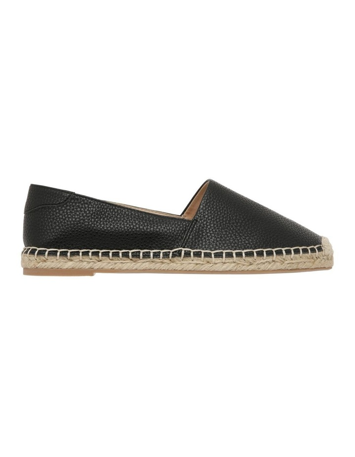 Caity Black Flat Shoes image 1