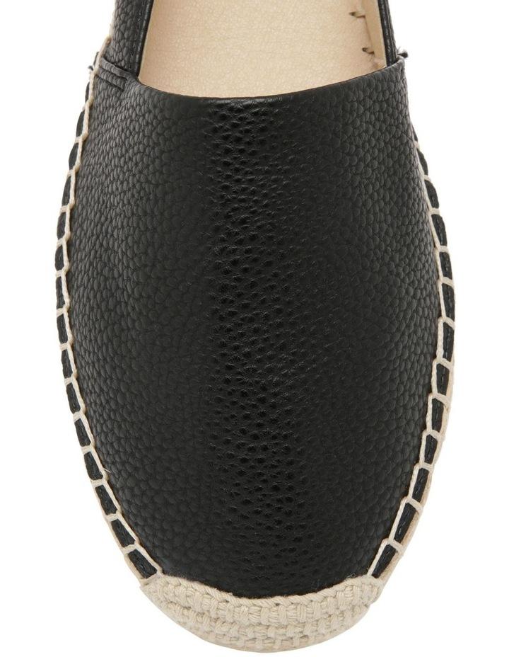 Caity Black Flat Shoes image 2