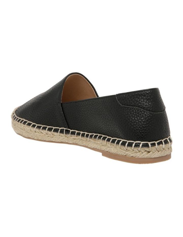 Caity Black Flat Shoes image 3