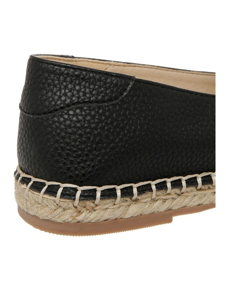 Caity Black Flat Shoes image 4