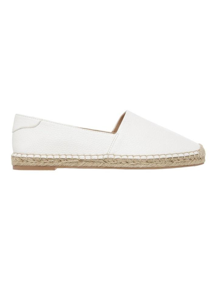 Caity White Flat Shoes image 1
