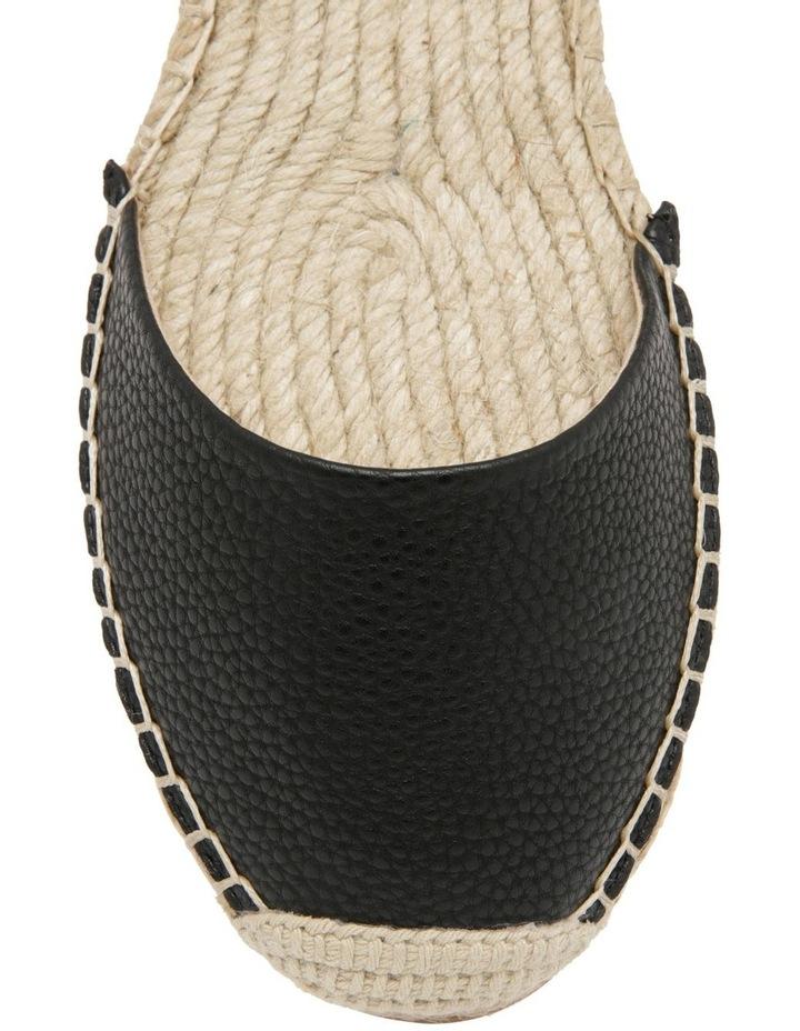 Cassie Black Flat Shoes image 2