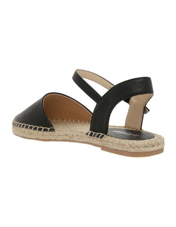 Cassie Black Flat Shoes image 3