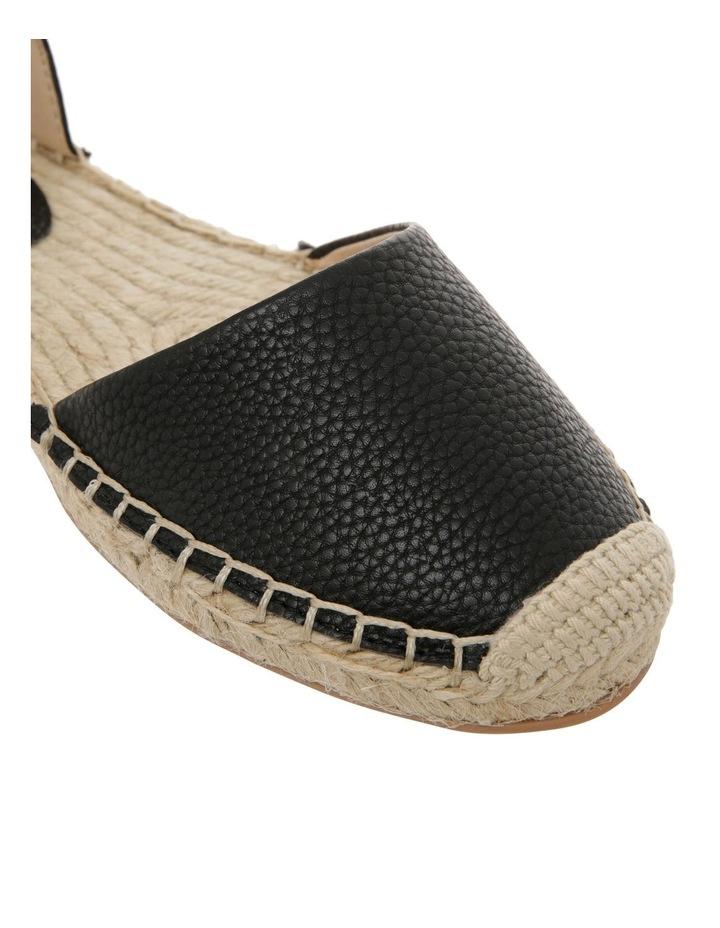 Cassie Black Flat Shoes image 4