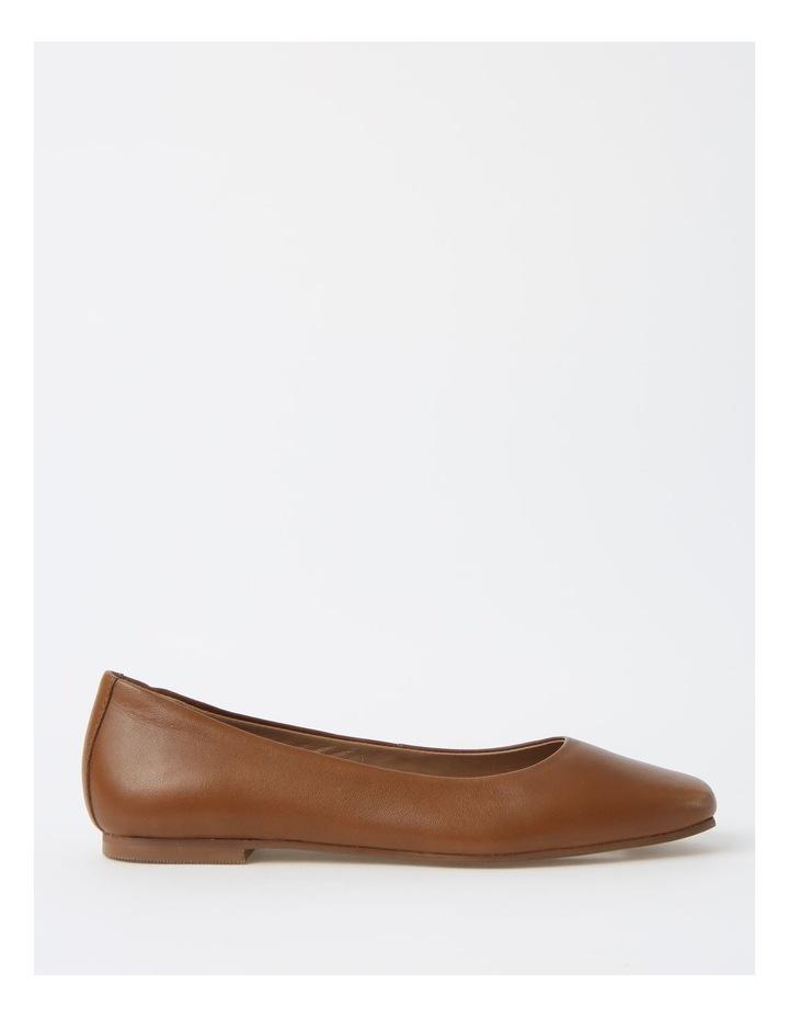 Brooke Tan Flat Shoes image 1