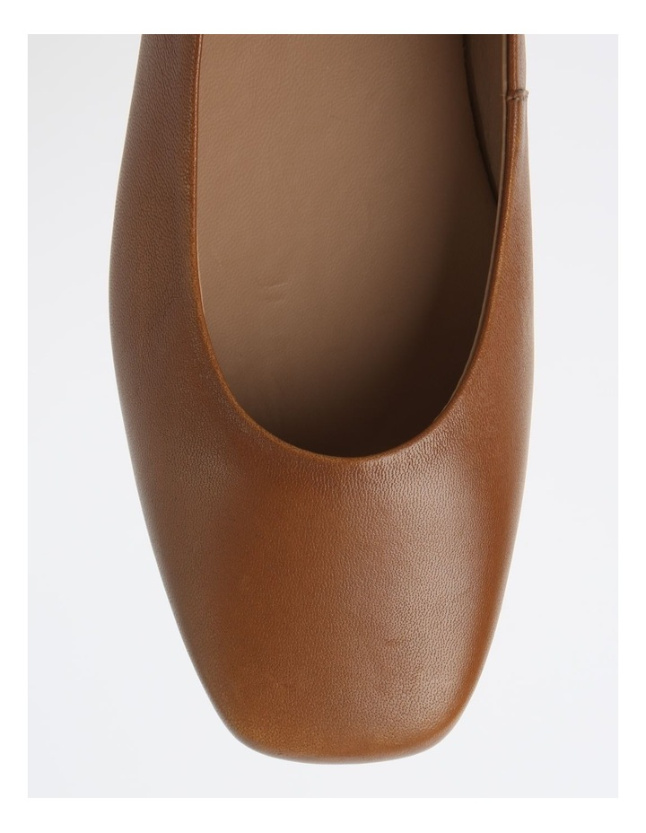 Brooke Tan Flat Shoes image 2