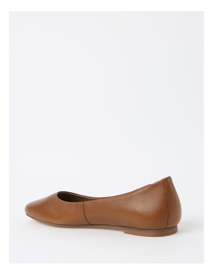 Brooke Tan Flat Shoes image 3