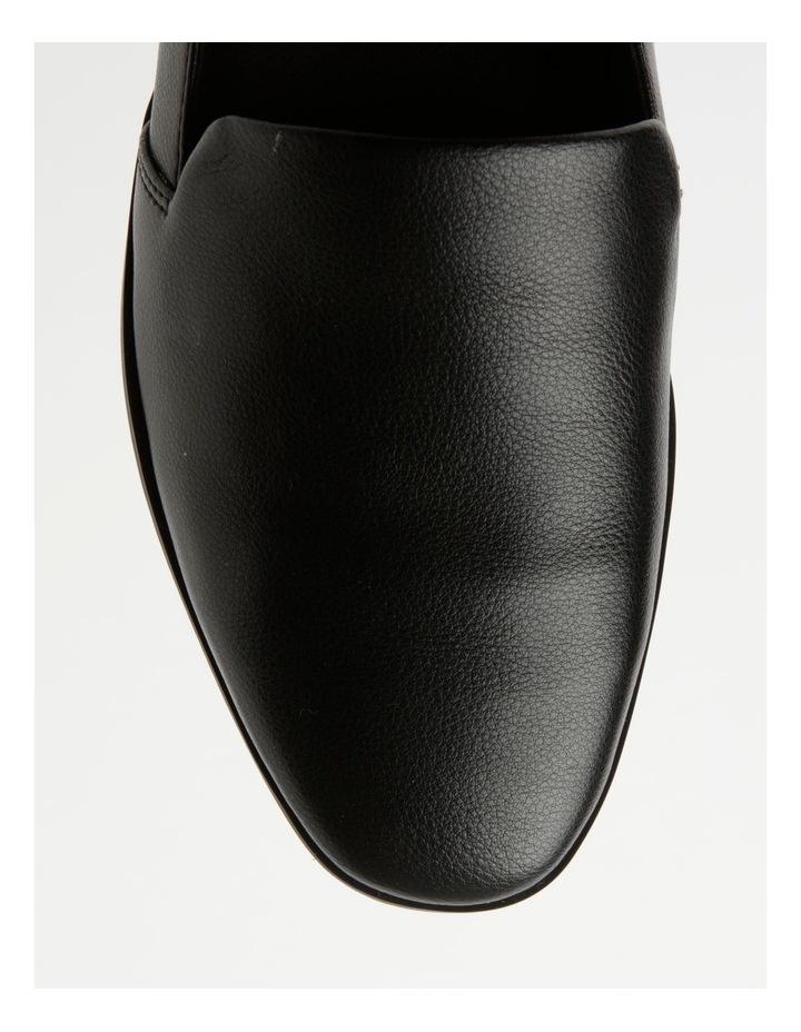 Abbie Black Flat Shoes image 2
