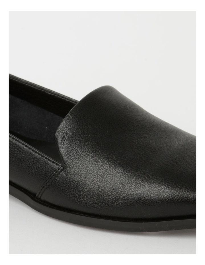 Abbie Black Flat Shoes image 4