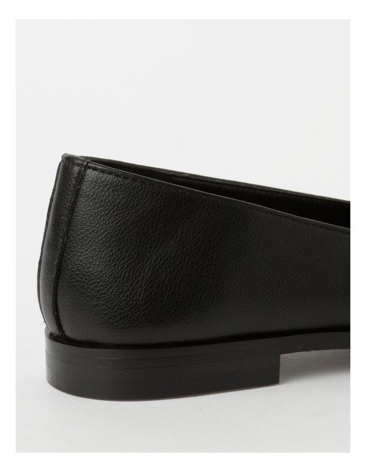 Abbie Black Flat Shoes image 5