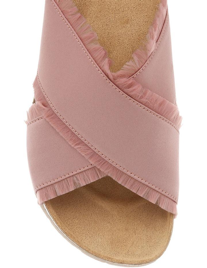 Millie Pink Satin Sandal image 3