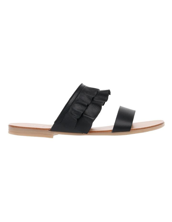 Ree Ree Black Leather Sandal image 1