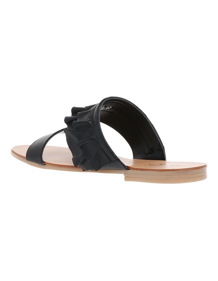 Ree Ree Black Leather Sandal image 2