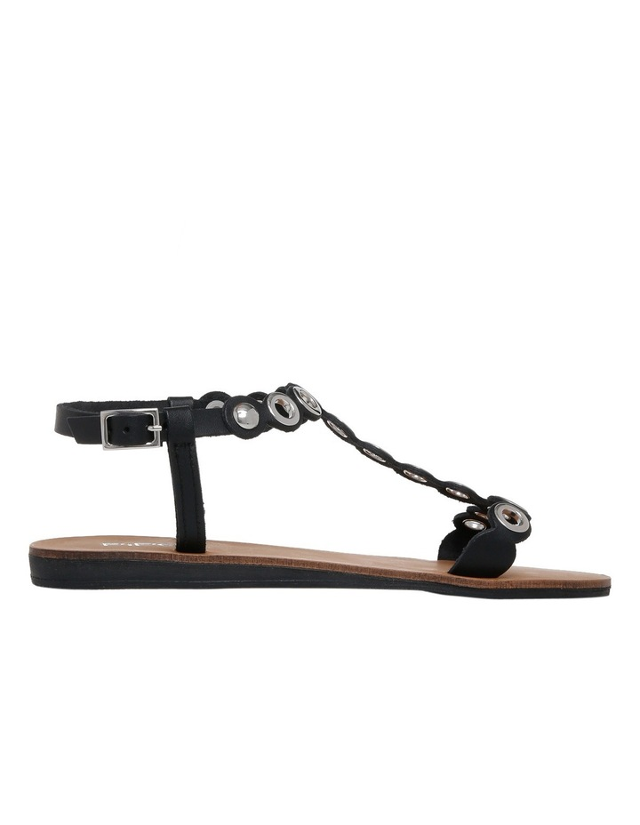 Loz Black Leather Sandal image 1