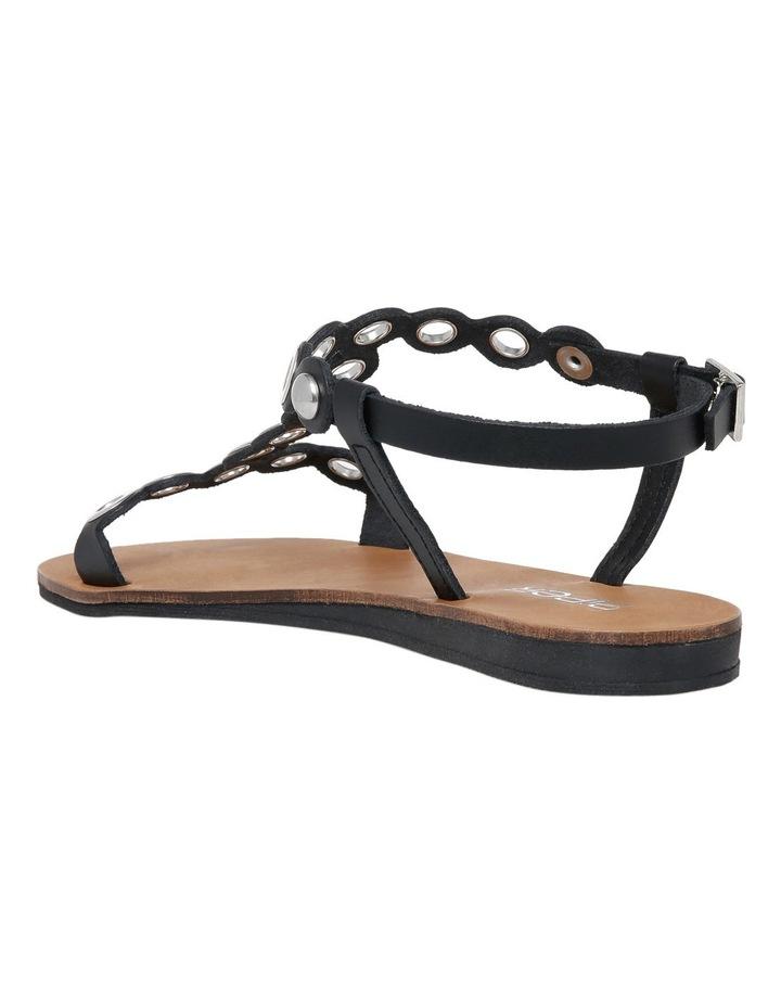 Loz Black Leather Sandal image 2