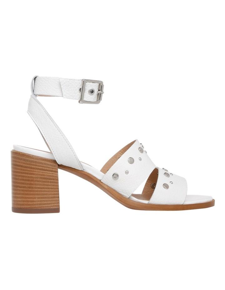 bd181effecec27 Sofia White Leather Sandal image 1