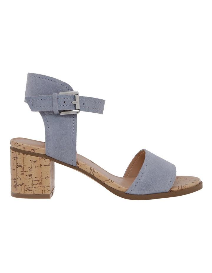 Vanessa Blue Suede Sandal image 1