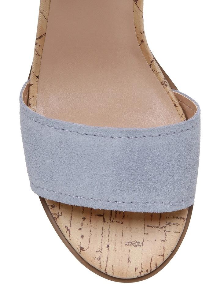 Vanessa Blue Suede Sandal image 3