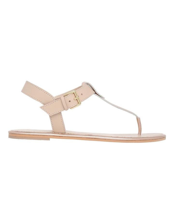 Paula Nude Leather Sandal image 1
