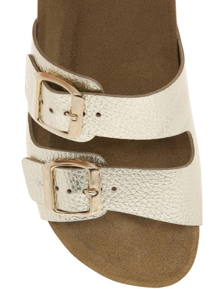 Jane Gold Leather Slide image 3