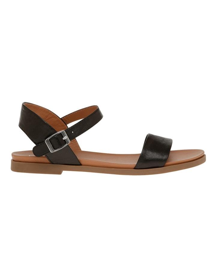 Darcy Black Leather Sandal image 1