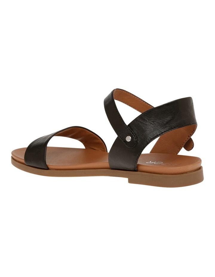 Darcy Black Leather Sandal image 2