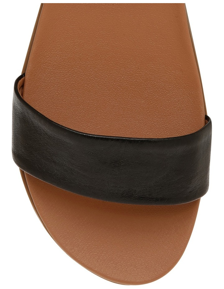 Darcy Black Leather Sandal image 3