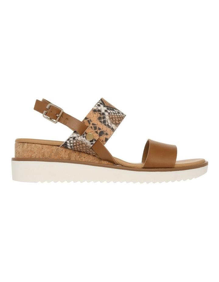 Olivia Tan Leather Sandal image 1