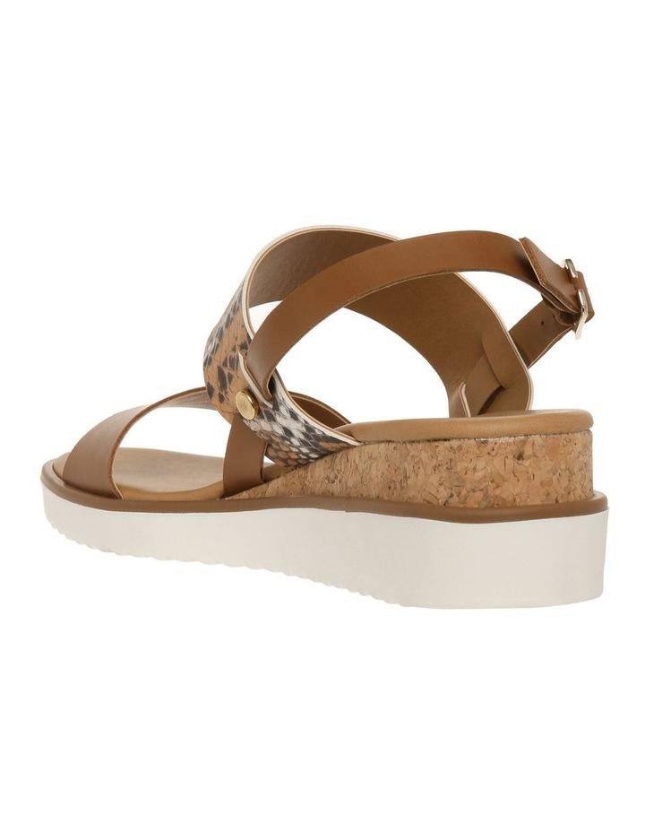 Olivia Tan Leather Sandal image 2