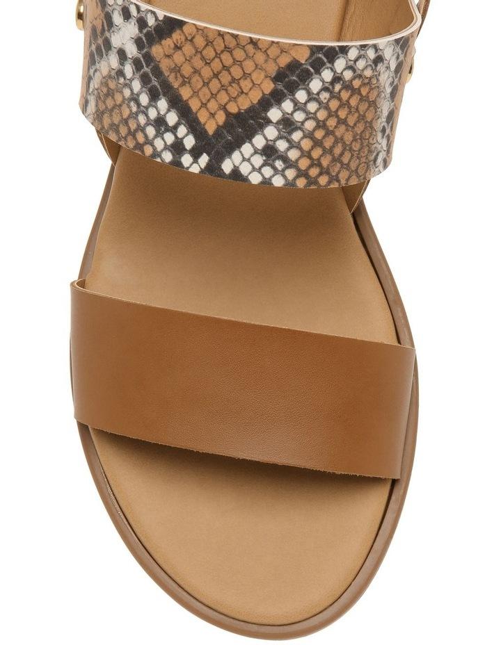 Olivia Tan Leather Sandal image 3