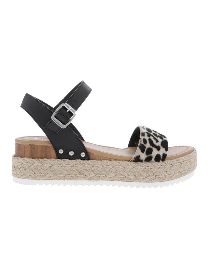 Bella Black Leather Sandal image 1