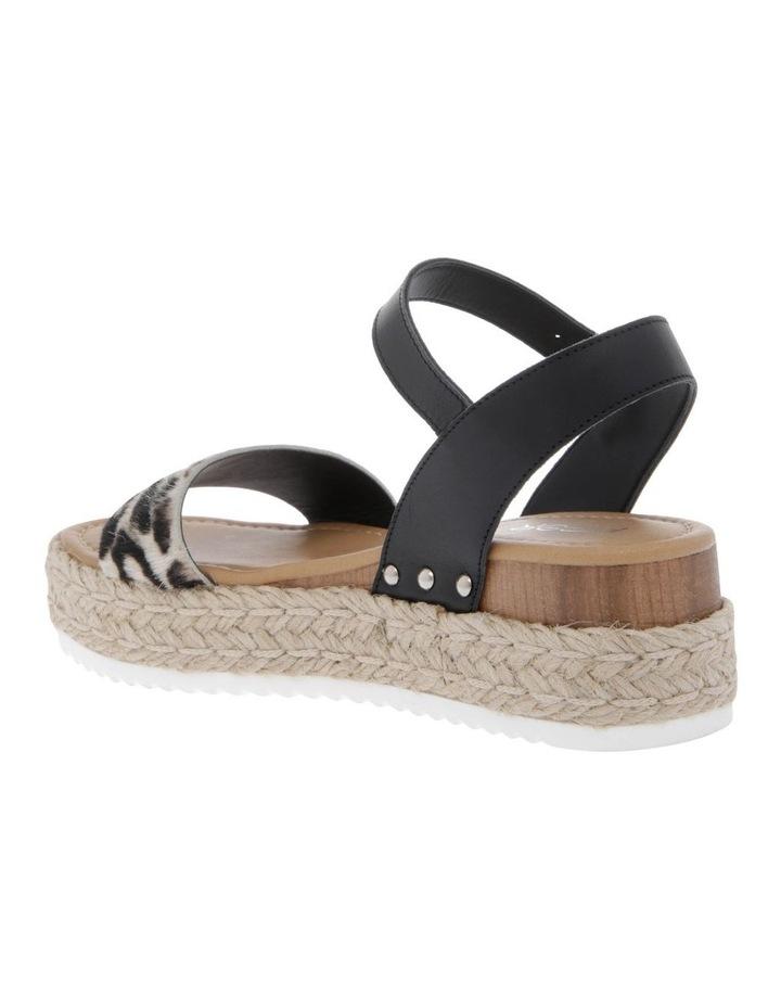 Bella Black Leather Sandal image 2