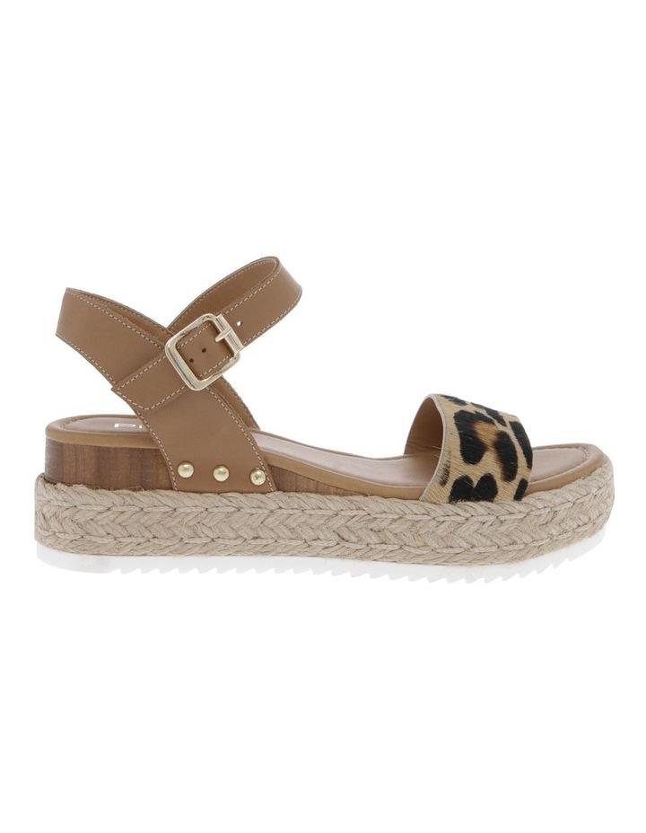 Bella Tan Leather Sandal image 1