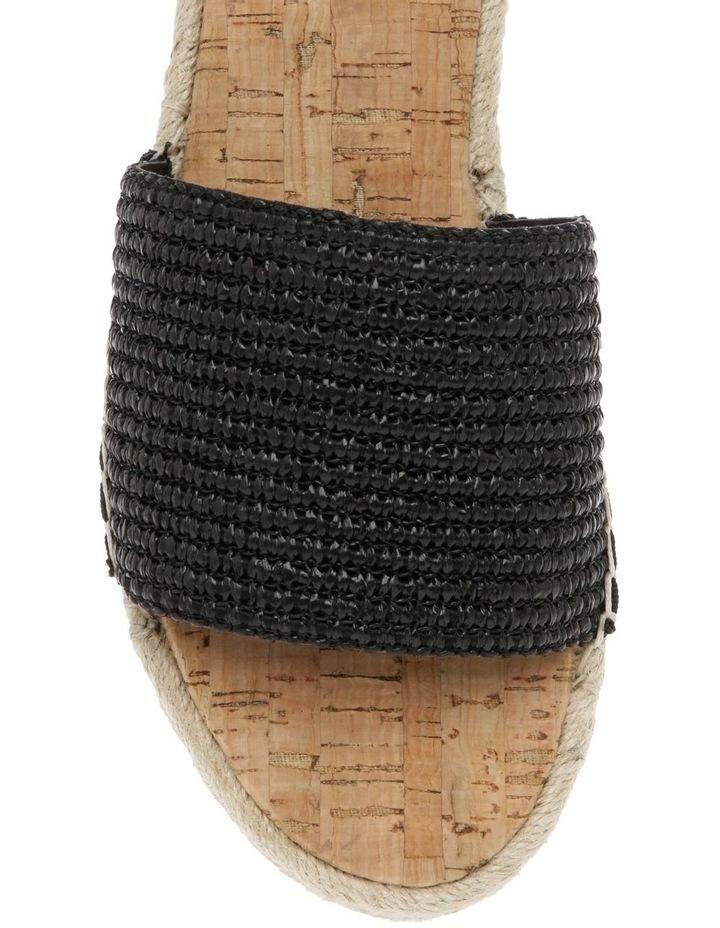 Congo Black Raffia Sandal image 3