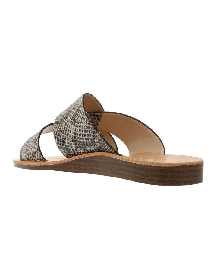 Mali Snake Print Leather Sandal image 2