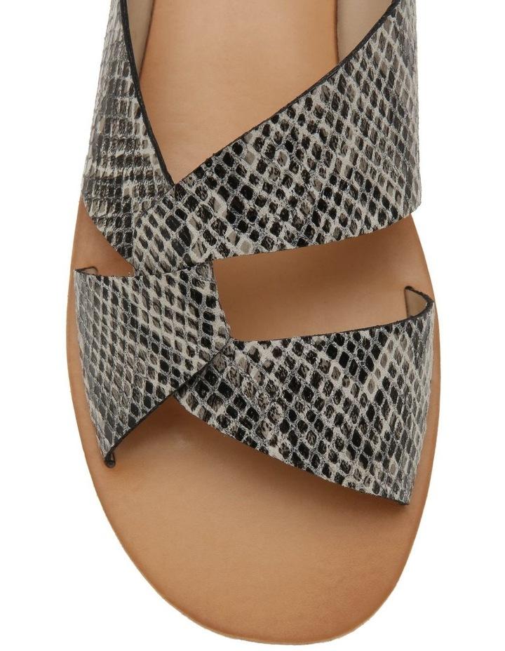 Mali Snake Print Leather Sandal image 3