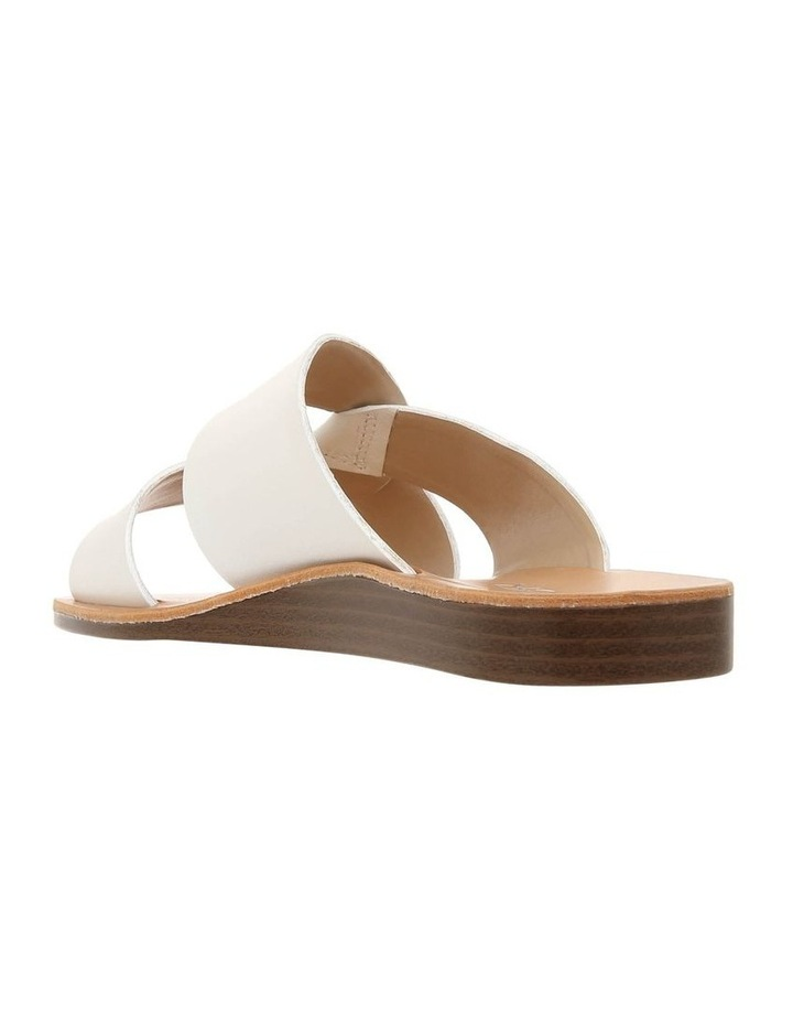 Mali White Leather Sandal image 2