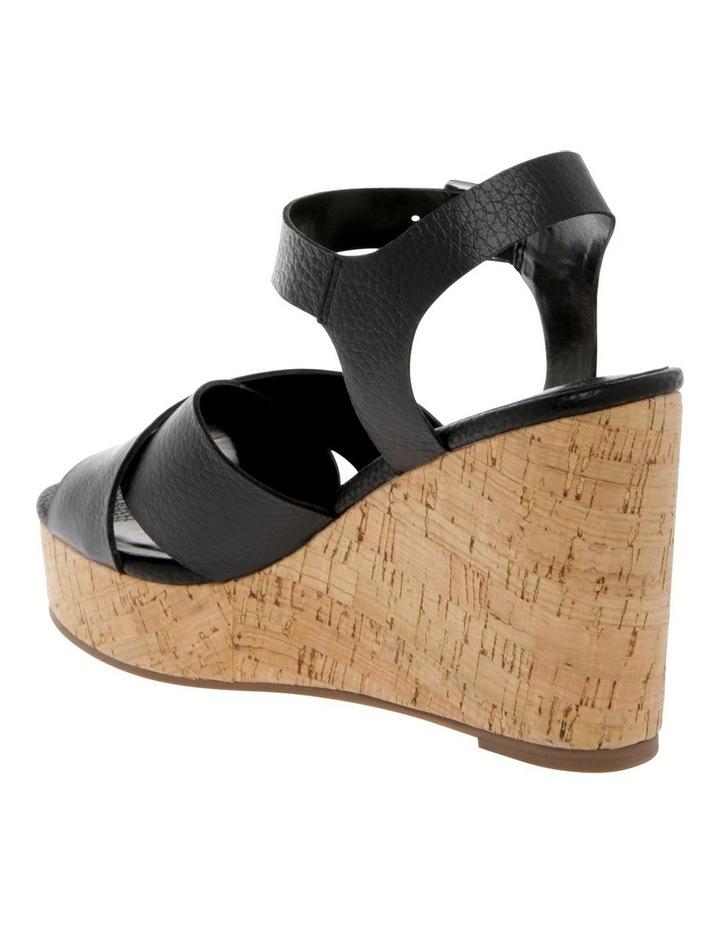 Tobago Black Leather Sandal image 2