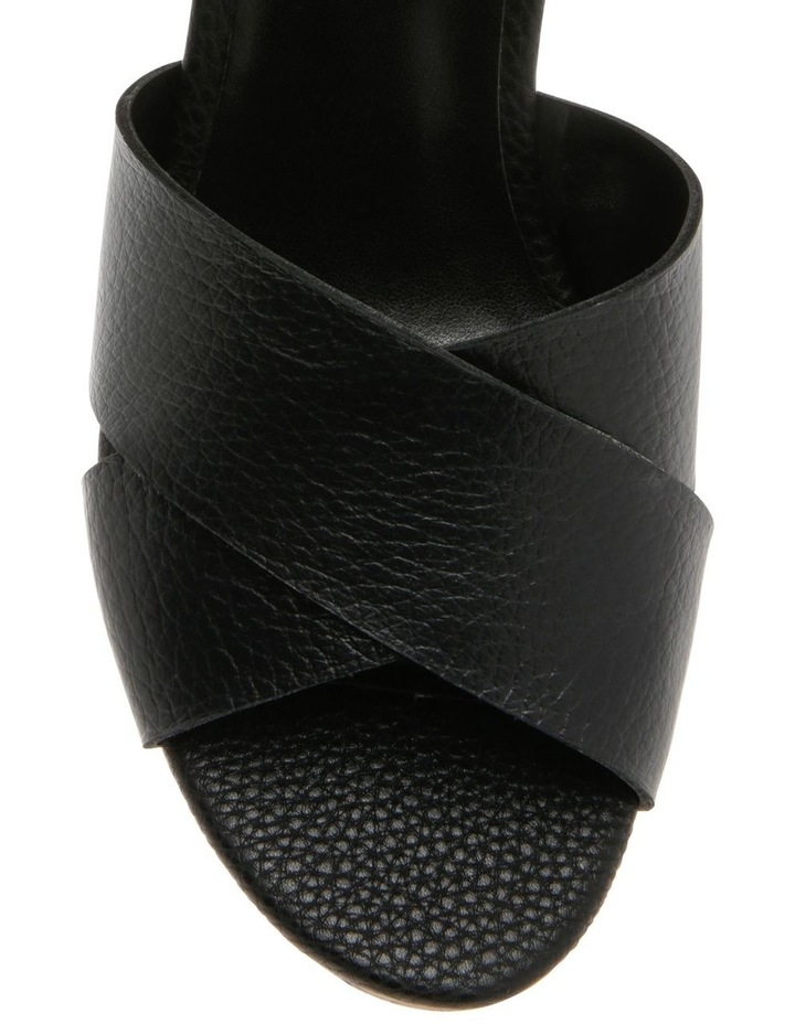 Tobago Black Leather Sandal image 3