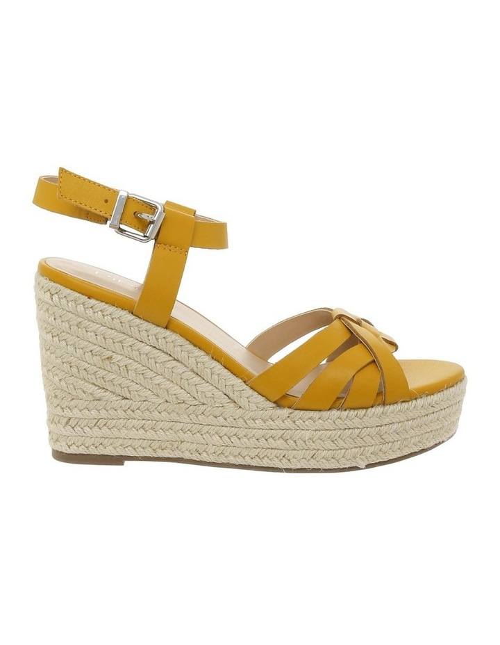 Dominica Mustard Leather Sandal image 1