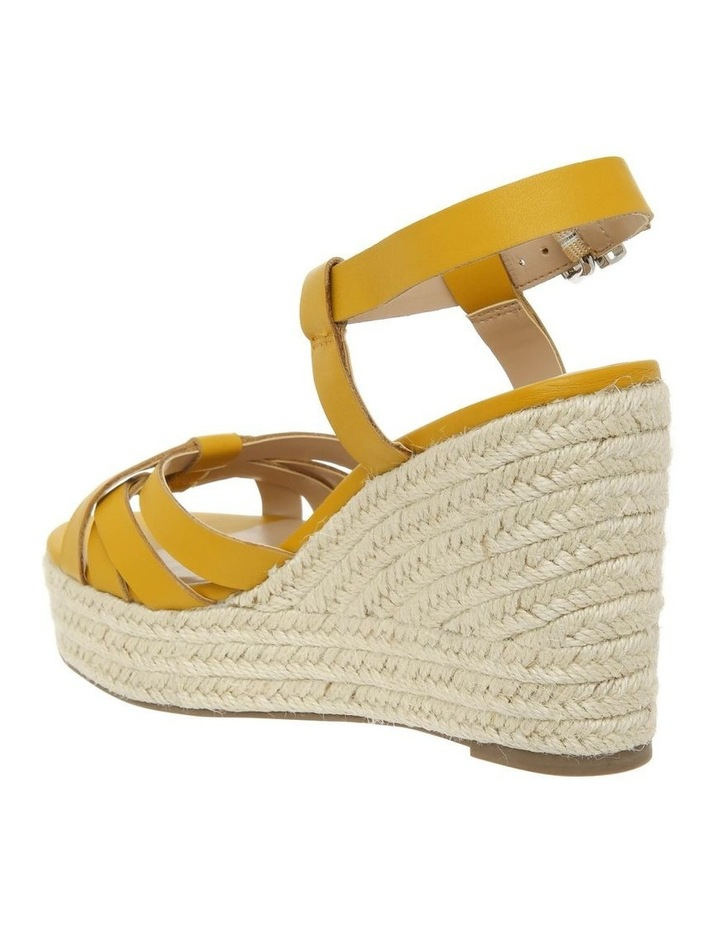 Dominica Mustard Leather Sandal image 2