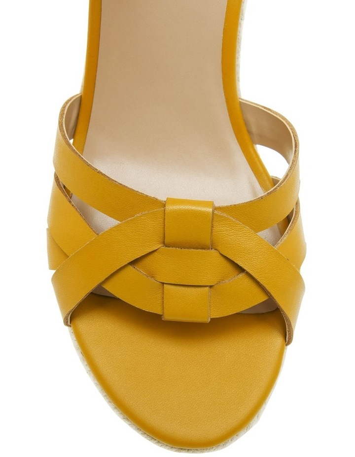 Dominica Mustard Leather Sandal image 3